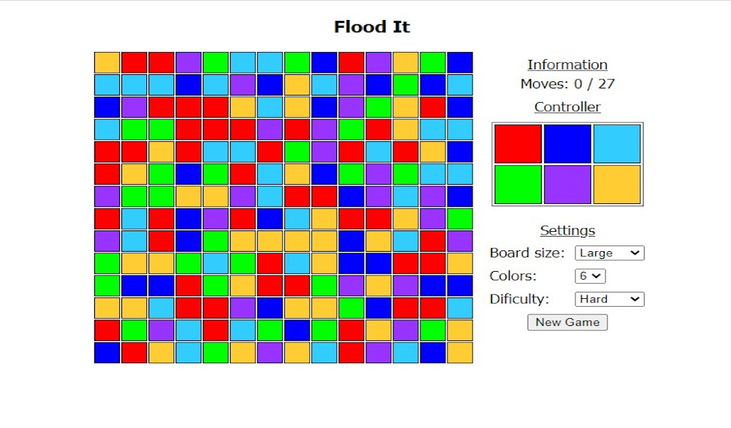FloodIt - Puzzle Casual Game