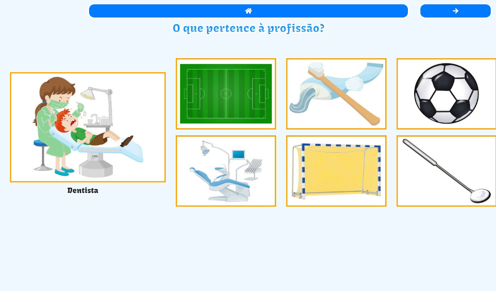 Professions Game - Educational