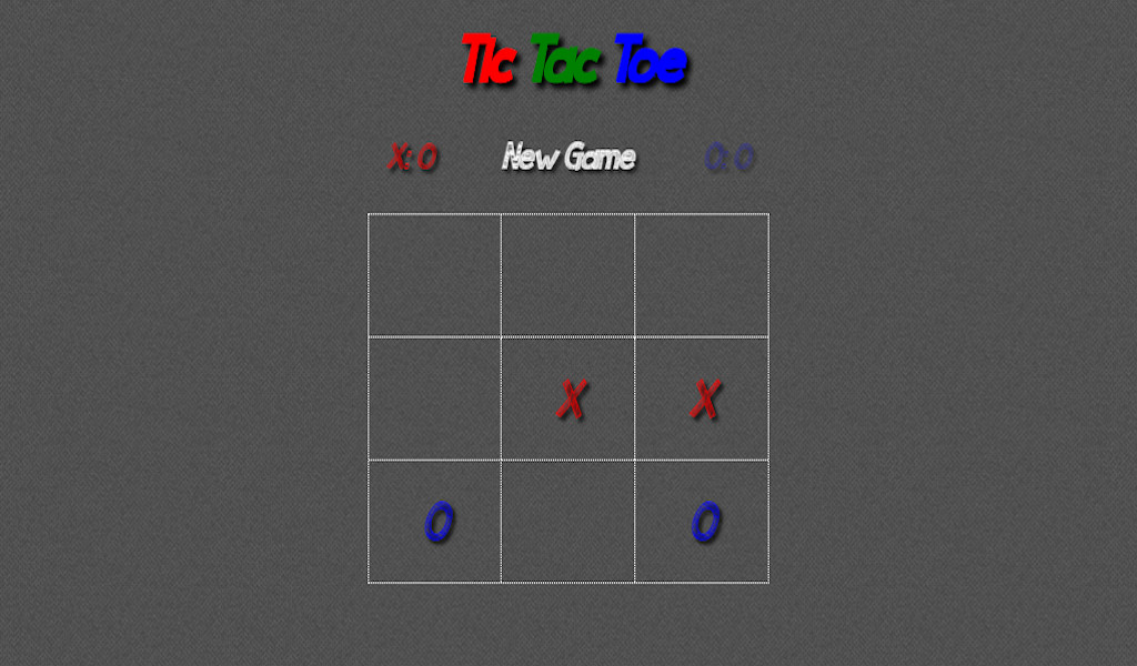 Tic Tac Toe - Classic Board Game