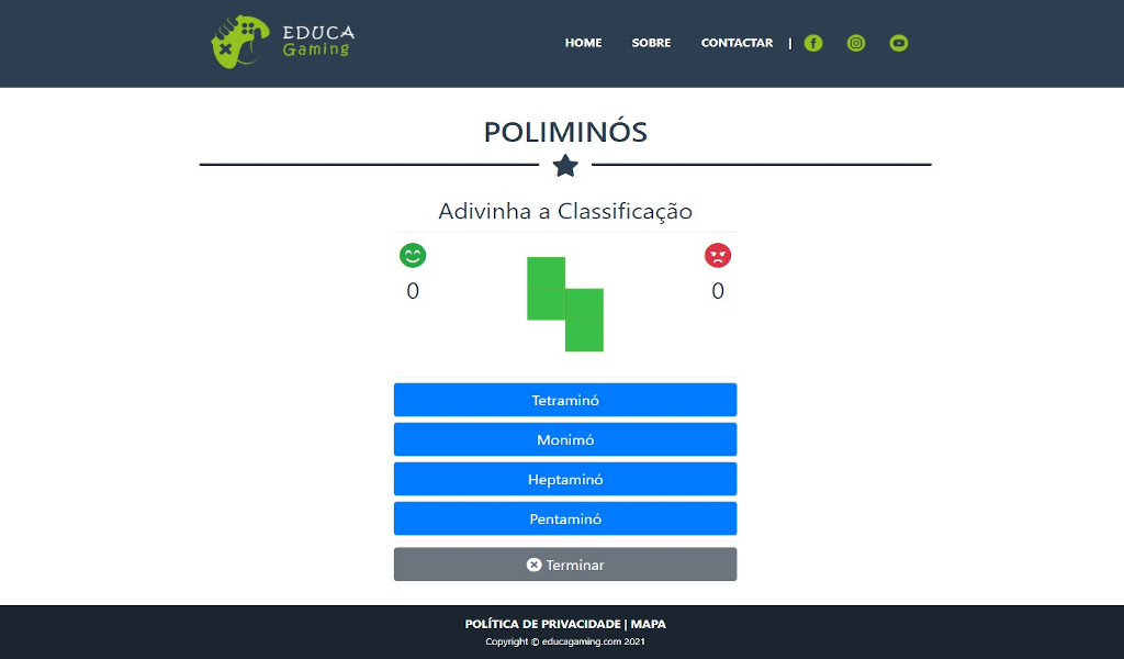 Poliminós - Educational Game